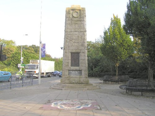 Oorlogsmonument An Oghmagh