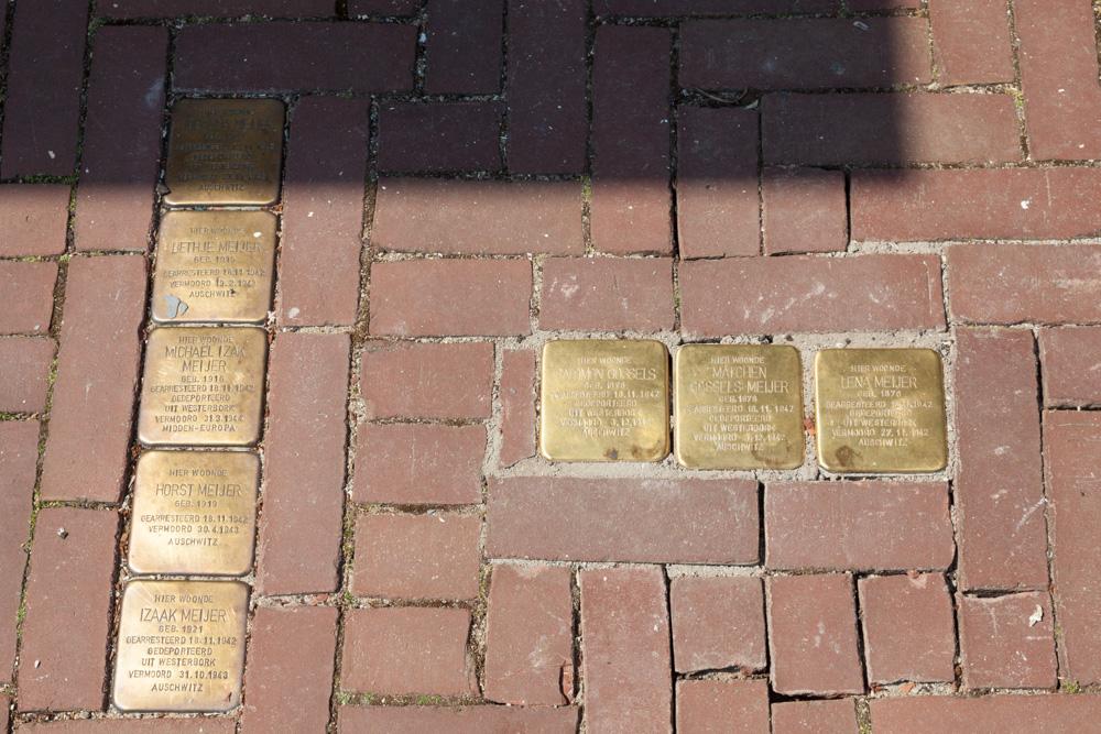 Stolpersteine Muraltplein 14