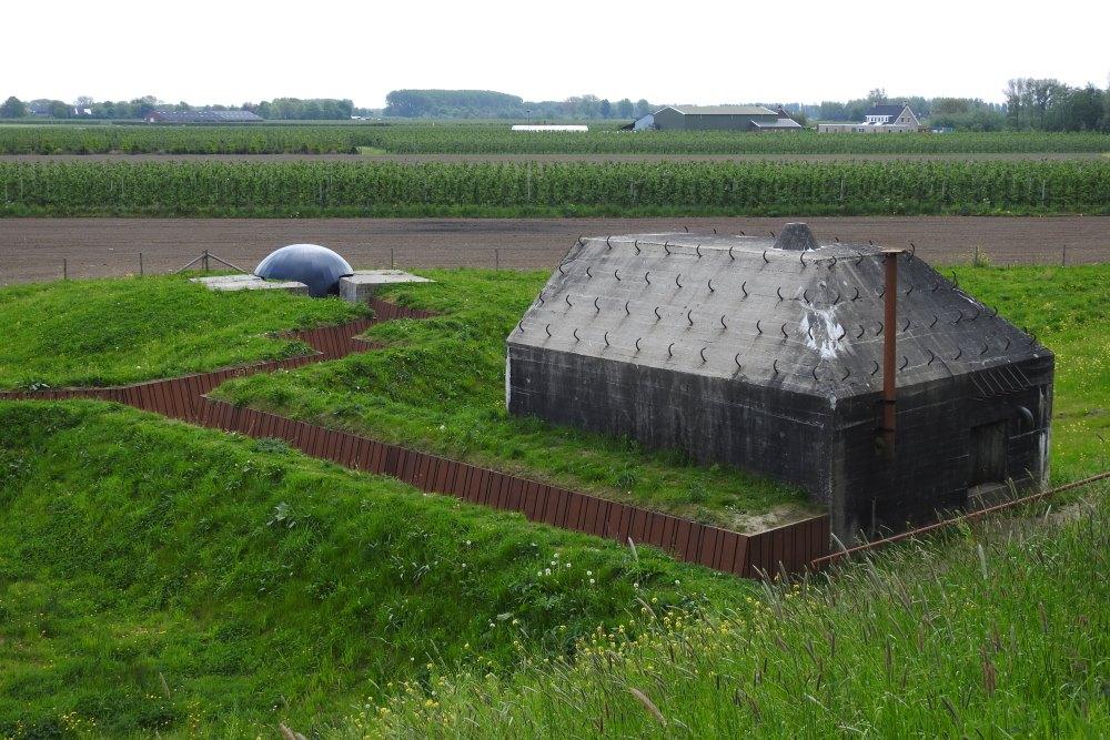 Gereconstrueerde Loopgraaf Meerdijk