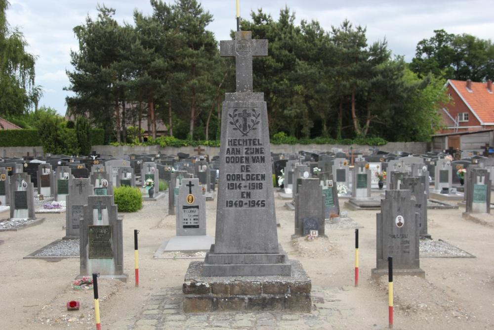 War Memorial Cemetery Hechtel
