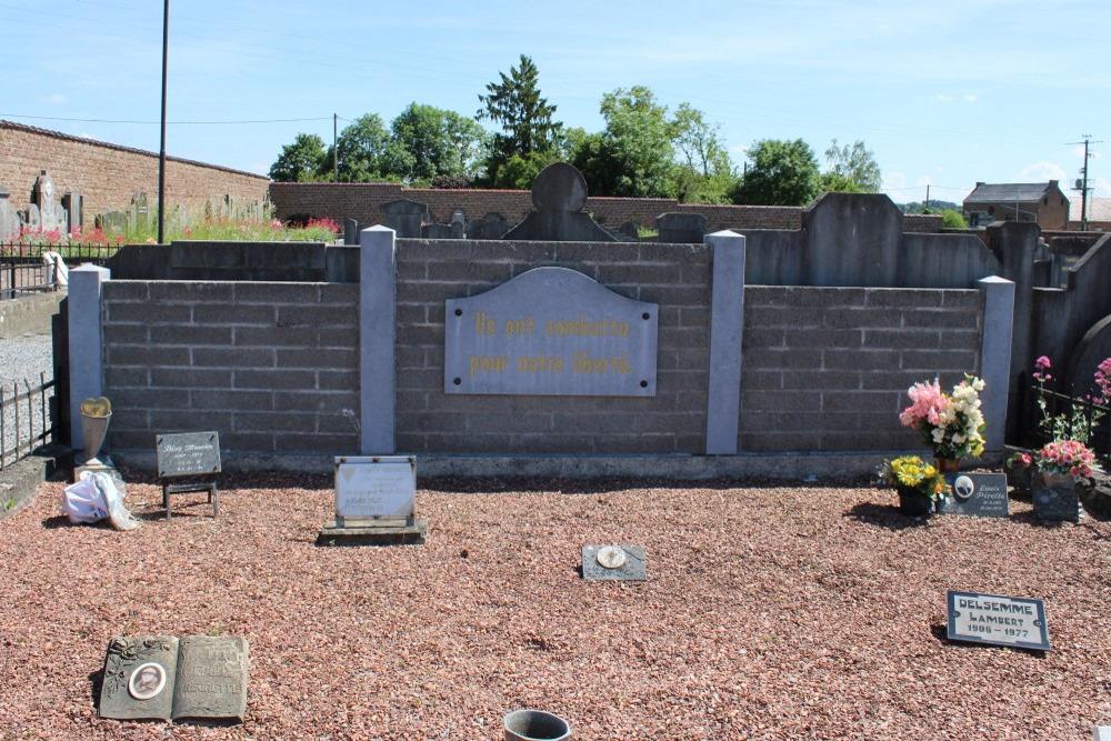 Memorial and War Graves Veterans Antheit