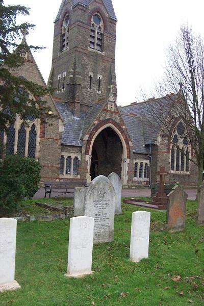 Commonwealth War Graves Biggleswade Cemetery