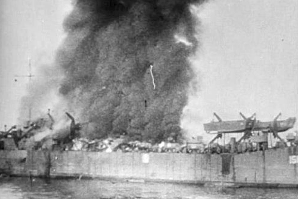 Shipwreck U.S.S. LST-158