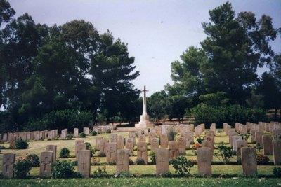 Commonwealth War Cemetery Tabarka Ras Rajel