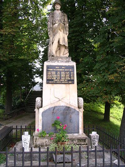 War Memorial Hegyhatszentjakab