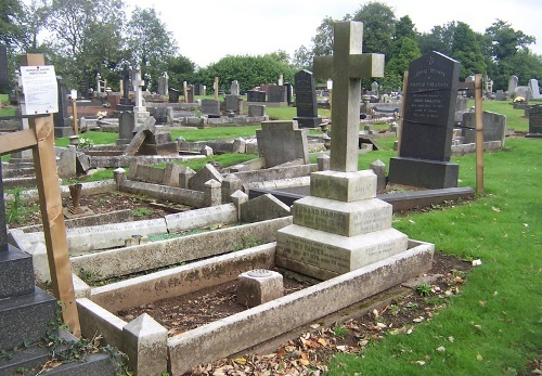 Commonwealth War Graves Hugglescote Cemetery