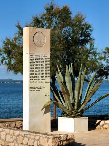 Oorlogsmonument Zadar