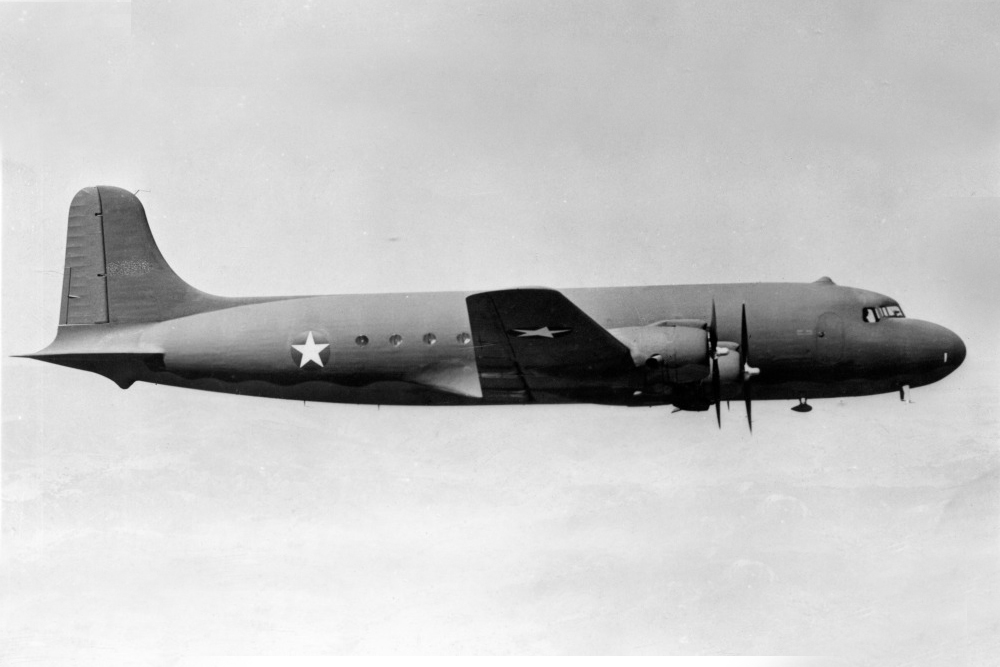 Crash Site C-54A-15-DC (DC-4) 42-72250