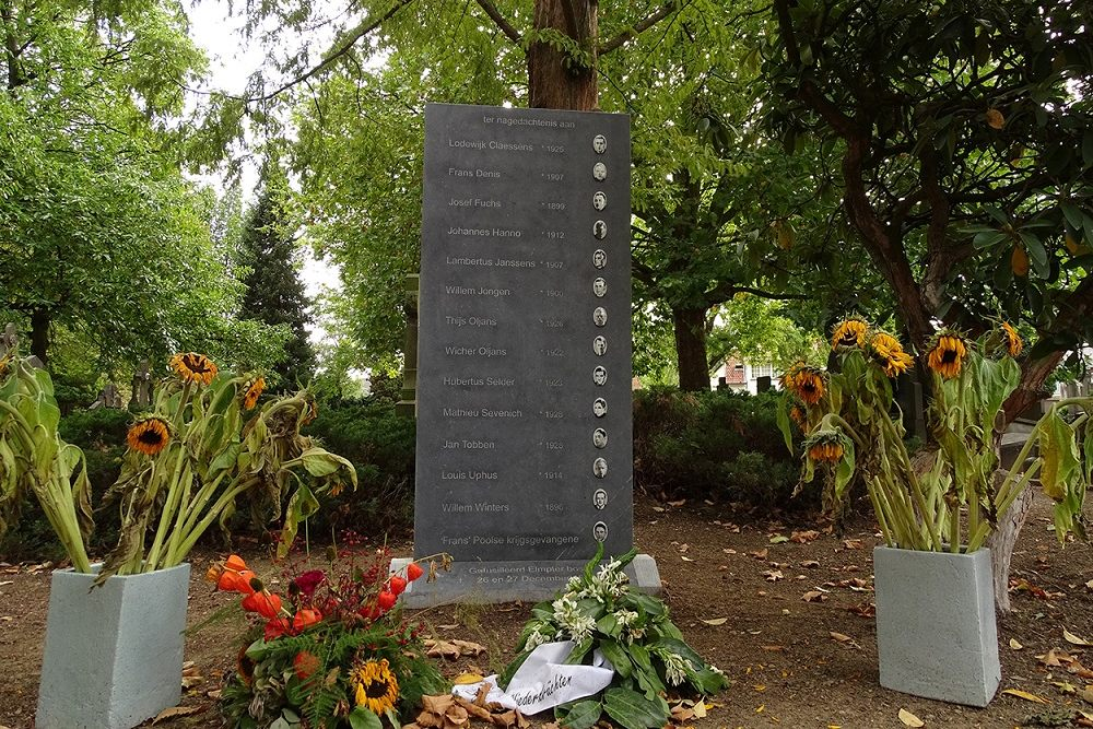 Memorial Executed Citizens Of Roermond