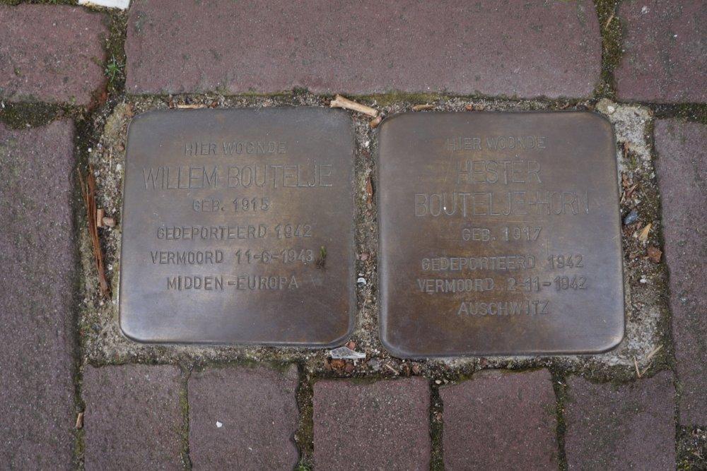 Stumbling Stones Nieuwstad 37