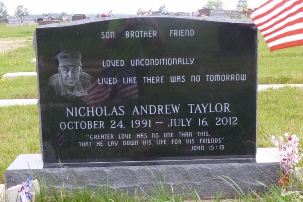 Amerikaans Oorlogsgraf Mennonite Reformed Evangelical Cemetery