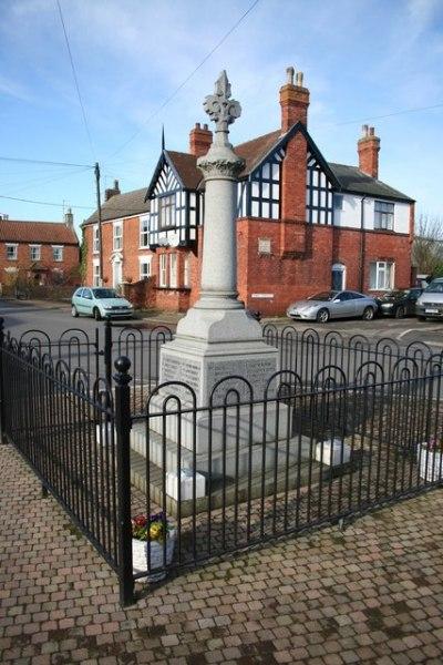 War Memorial Billinghay