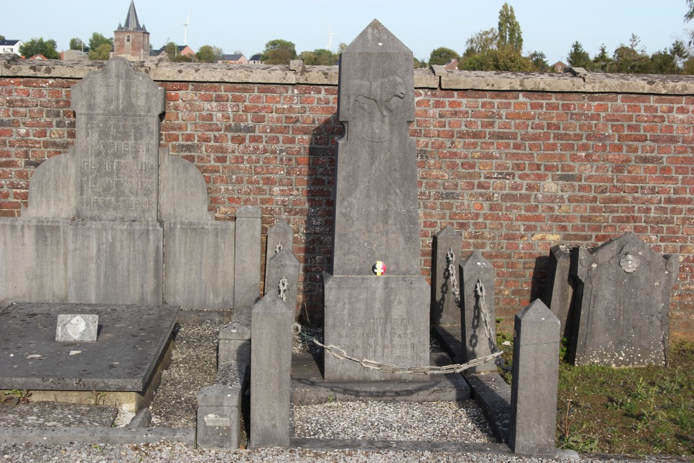 Belgian War Grave Avernas-Le-Bauduin