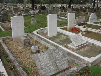 Oorlogsgraven van het Gemenebest St. Swithin's Cemetery