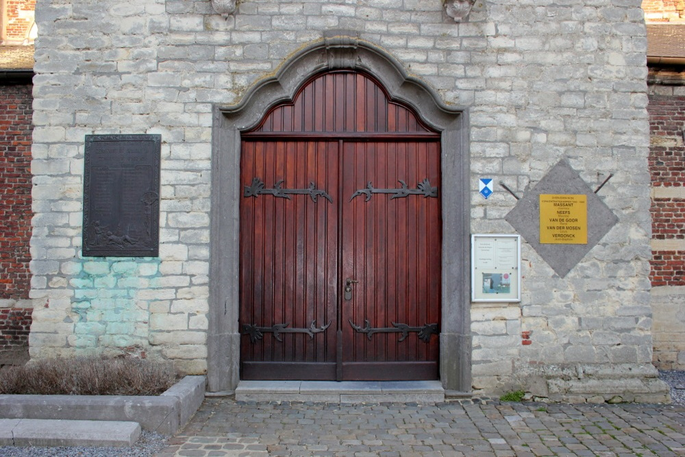 Gedenkplaten Kerk Tildonk