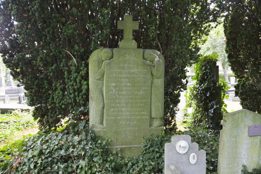 War Memorial Old Municipal Cemetery Westkapelle