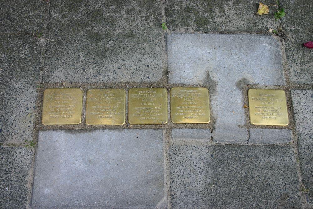 Stolpersteine Wassenberghstraat 10