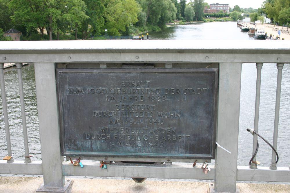 Jahrtausend Brücke Brandenburg an der Havel