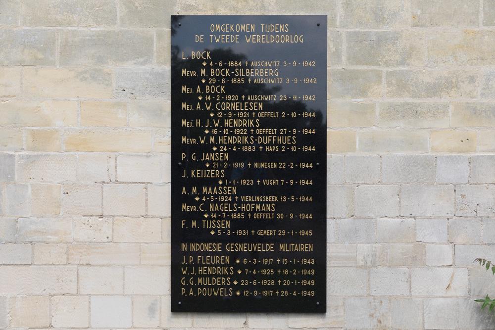 War Memorial Oeffelt