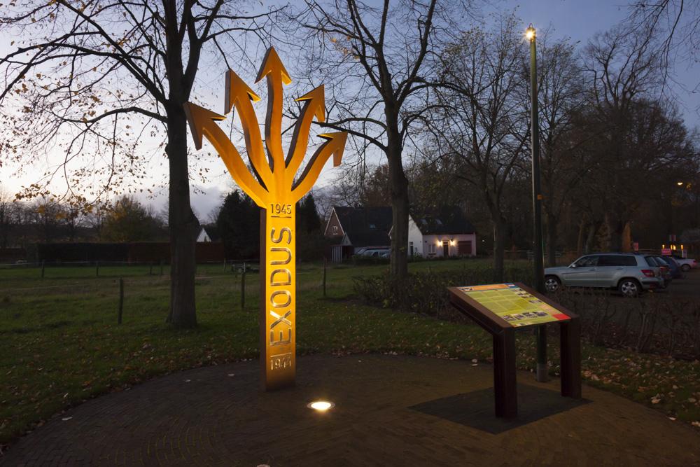 Exodus monument