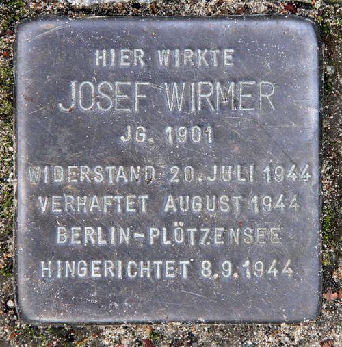 Stumbling Stone Dürerstraße 17