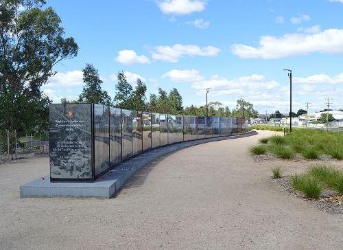 Monument Veteranen Vietnam-oorlog Australië