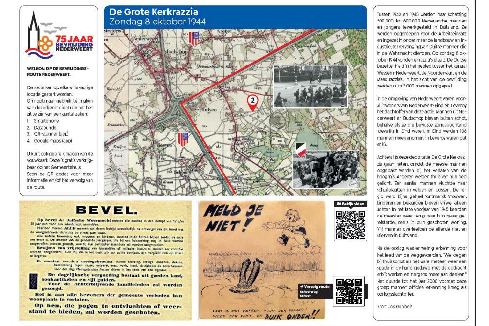 Liberation Route Location 2 - The Big Church Razzia October 8 1944