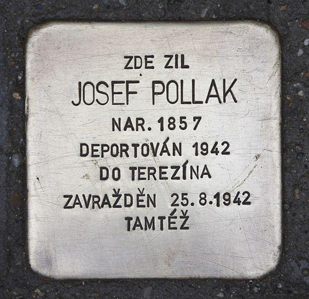 Stolperstein Krapkova 157/24