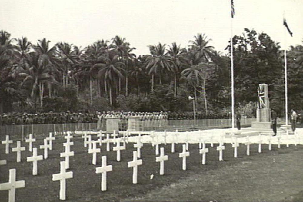 Former Commonwealth War Cemetery Finschhafen