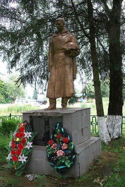 Mass Grave Soviet Soldiers Brazhnikovo