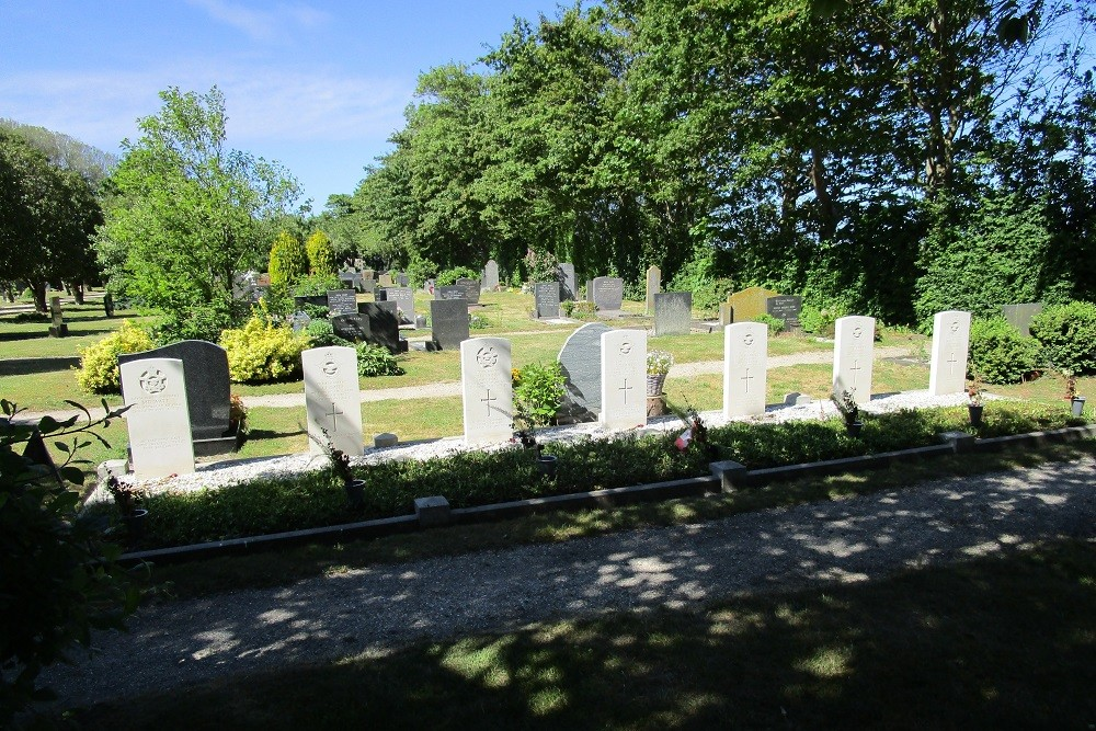 Commonwealth War Graves General Cemetery Hippolytushoef
