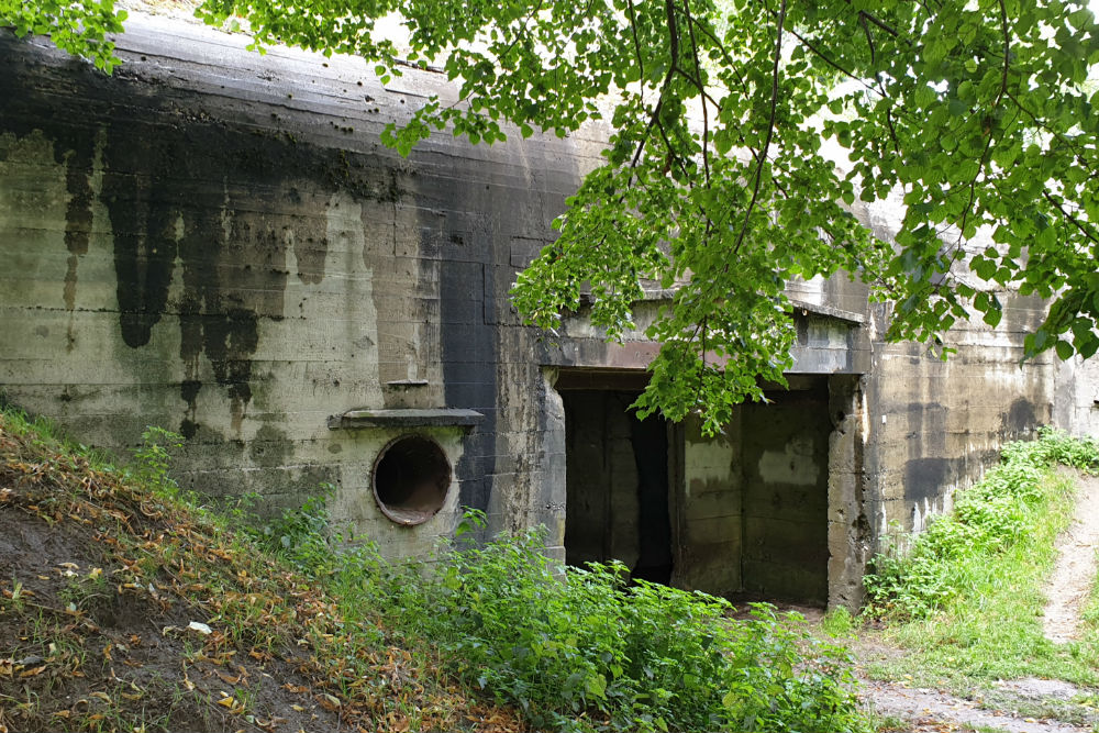 German Bunker Type 669 Bastion Holland