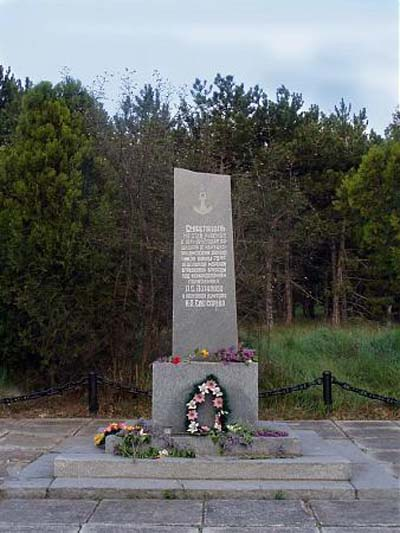 Mass Grave Soviet Soldiers Kamyshly