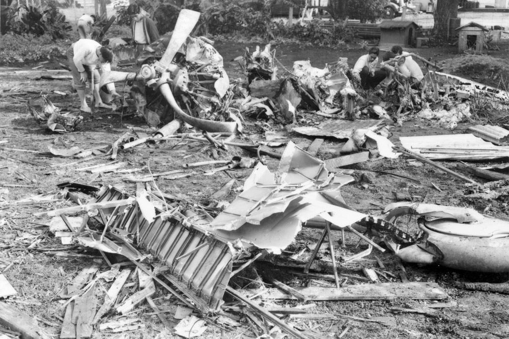 Crash Site Mitsubishi A6M2 Zero (Civil Construction Corps camp Wahiawa)