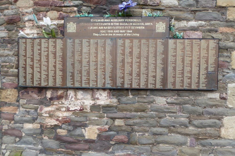 Memorial Killed Civilians Bristol