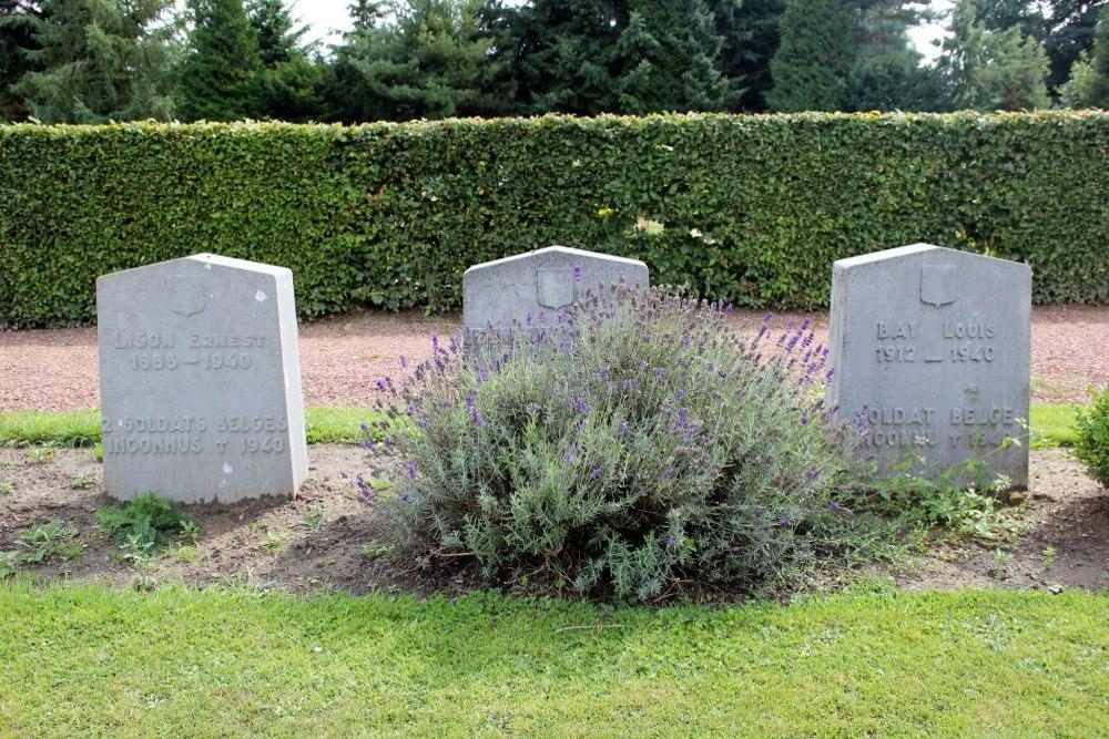Belgische Oorlogsgraven Nivelles
