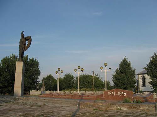 Mass Grave Soviet Soldiers Holoskiv