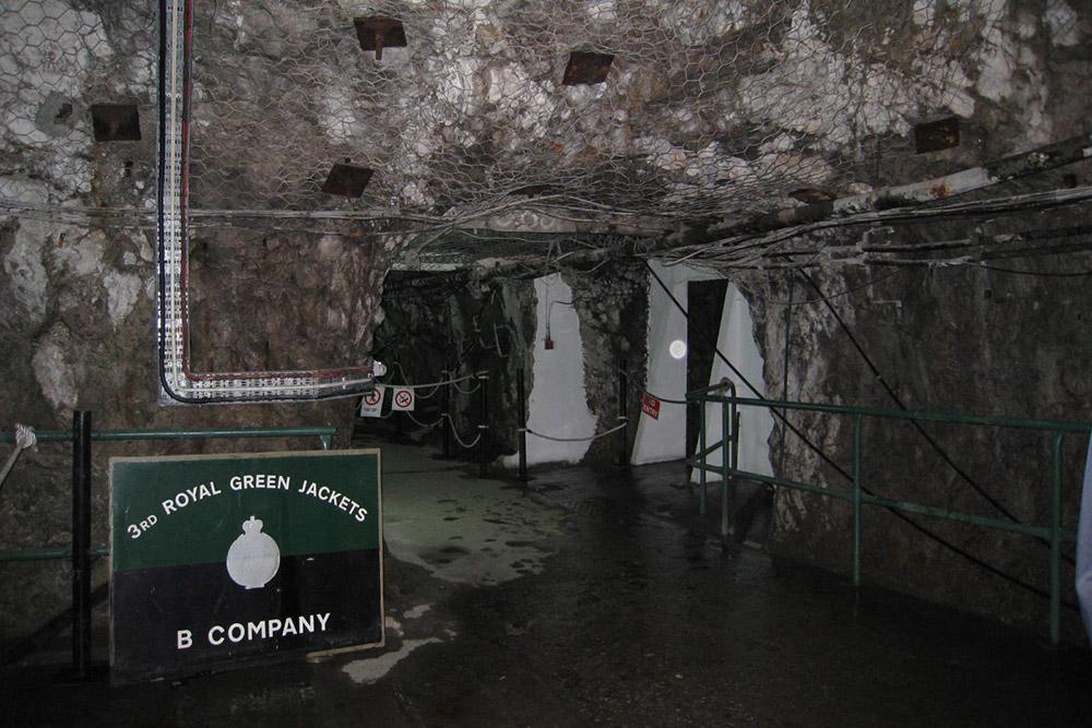 World War ll Tunnels Gibraltar