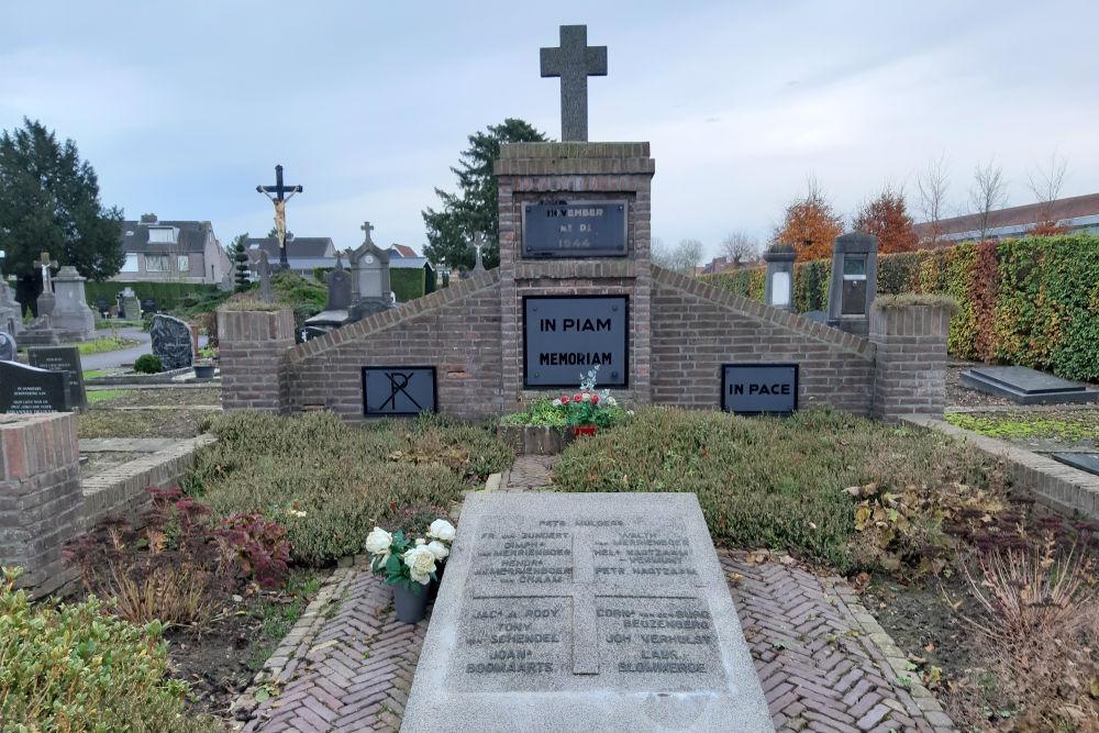 Nederlandse Oorlogsgraven Rooms Katholieke Begraafplaats Standdaarbuiten