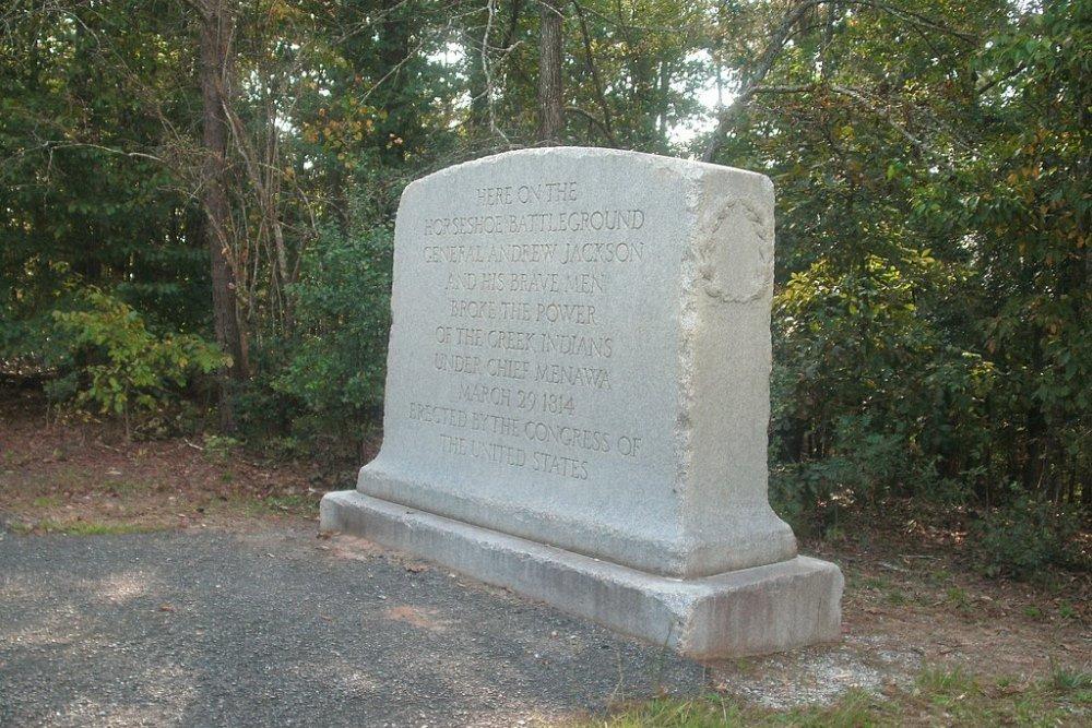Memorial Battle of Horseshoe Bend