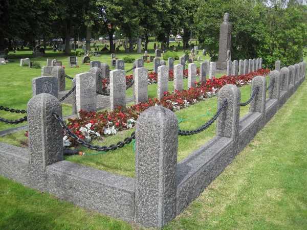 Oorlogsgraven van het Gemenebest Oude Begraafplaats Tonsberg