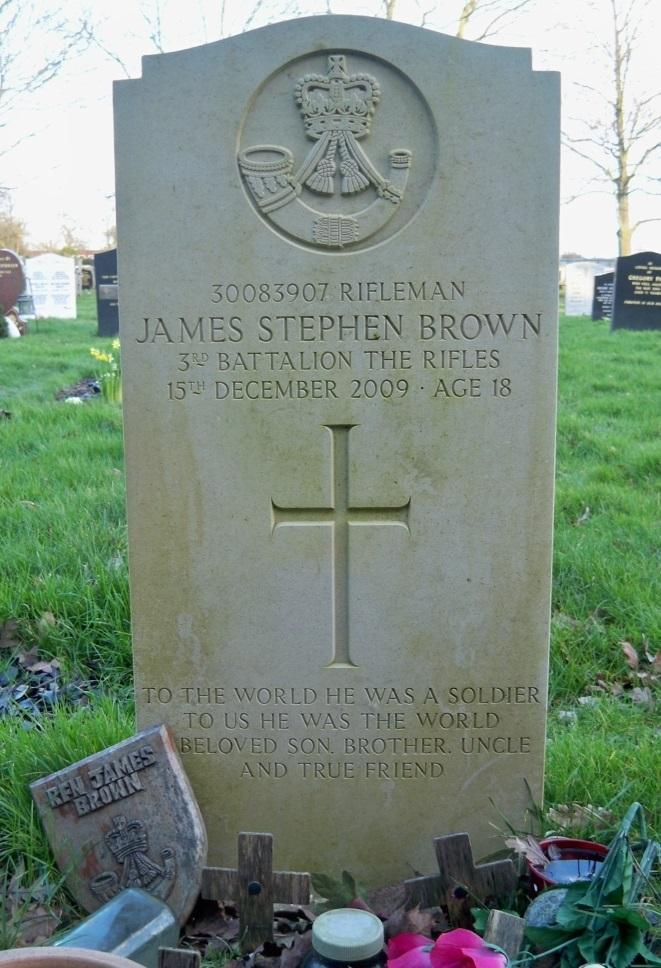 Brits Oorlogsgraf St. Lukes Cemetery