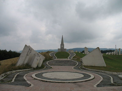Workers Battalion Memorial Kadinjača