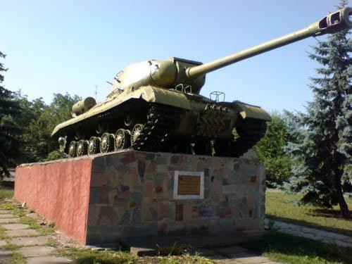 Bevrijdingsmonument (IS-2 Zware Tank) Vovchyk