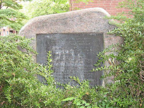 Memorial Synagogue Wandsbek