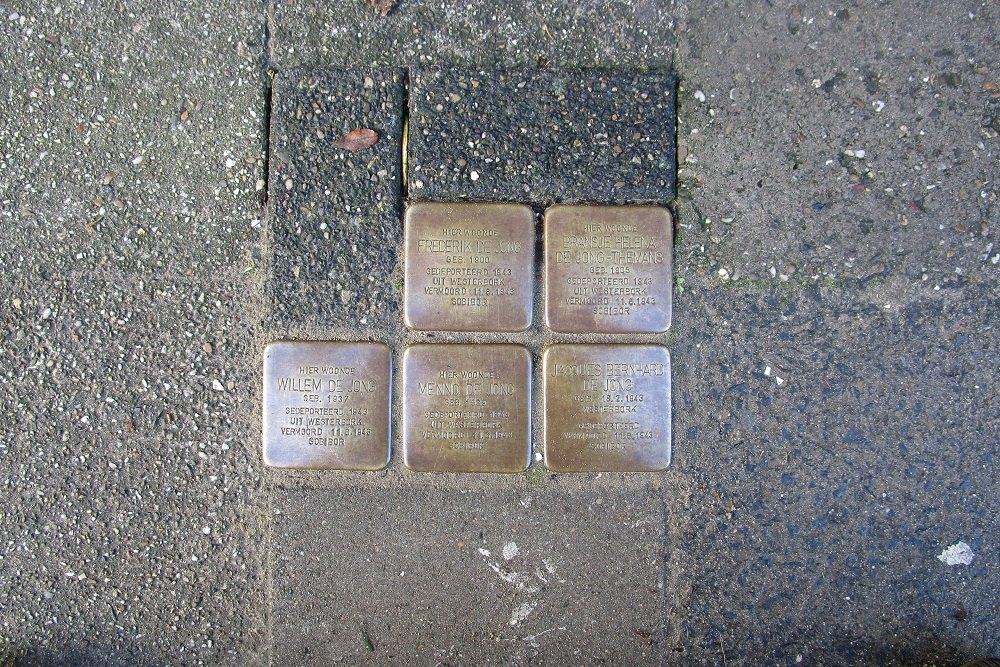 Herdenkingsstenen Cornelis van der Lijnstraat 73