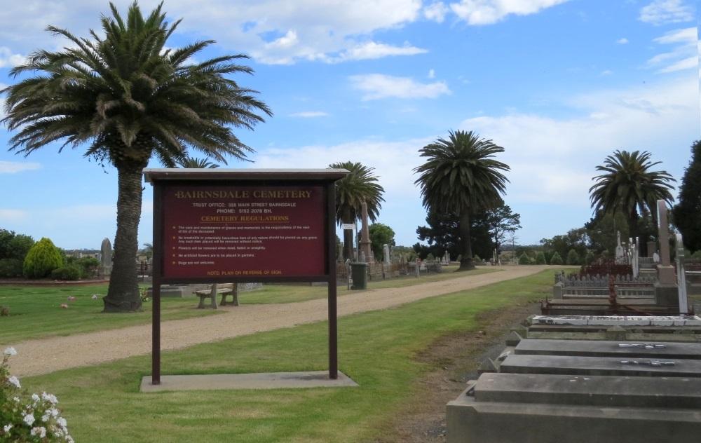 Oorlogsgraven van het Gemenebest Bairnsdale Public Cemetery