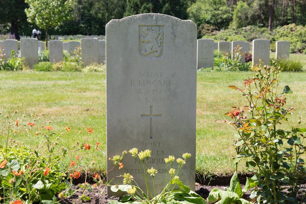 Belgian War Grave Canadian War Cemetery Holten