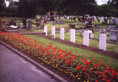 Commonwealth War Graves Birtley New Cemetery