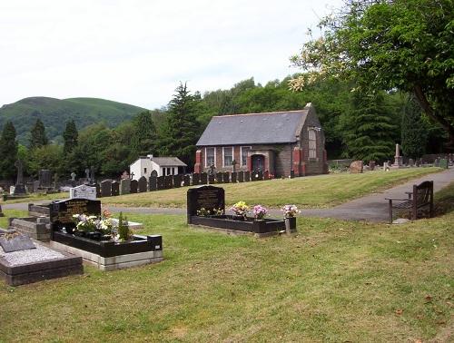 Oorlogsgraven van het Gemenebest Taff's Well Cemetery